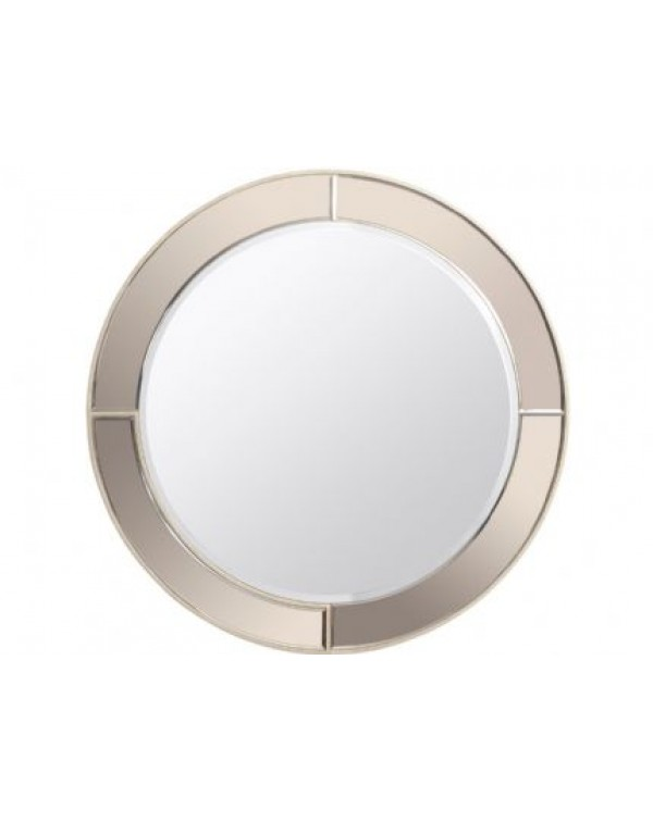 Libra Claridge Decor Round Mirror